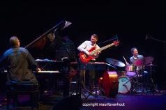 Rotterdam, 22 oktober 2015. Het Children of the Light Trio met John Patitucci, Brian Blade en Danilo Perez trad op in Lantaren Venster in Rotterdam.