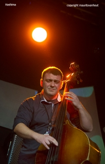 Belgrade, 29 oktober 2015. Hashima performing at the Jazz Belgrade festival 2015.