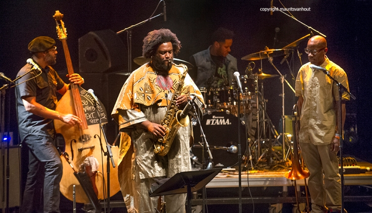Eindhoven, 7 november 2015 So Whats next festival editie 2015. Foto: Kamasi Washington