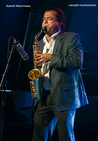 Rudresh Mahanthappa performing live at Belgrade Jazz 2015