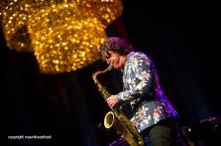 Rotterdam, 24 juni 2016 Uitreiking Edison Awards in Nieuwe Luxor Theater. foto: Yuri Honing won de prijs Jazz Nationaal