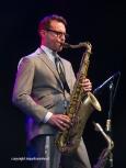 New Cool Collective tijdens Zeeland Jazz in Middelburg, 18 juni 2016. Foto: Benjamin Herman