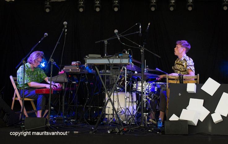 Beraad Geslagen live at Gent Jazz 2016