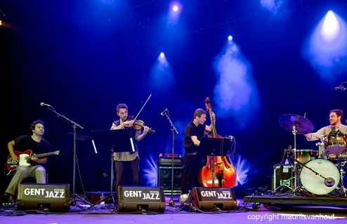 Carate Urio Orchestra live at Gent Jazz 2016