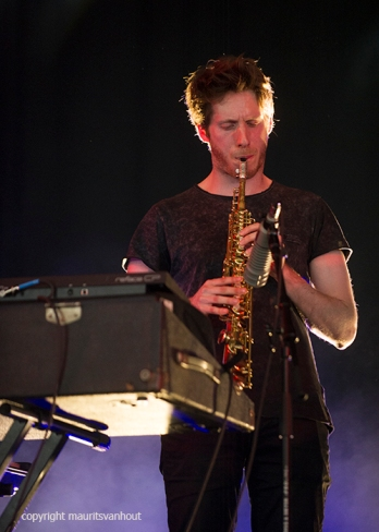 Dave Harrington Group live op Gent Jazz 2016