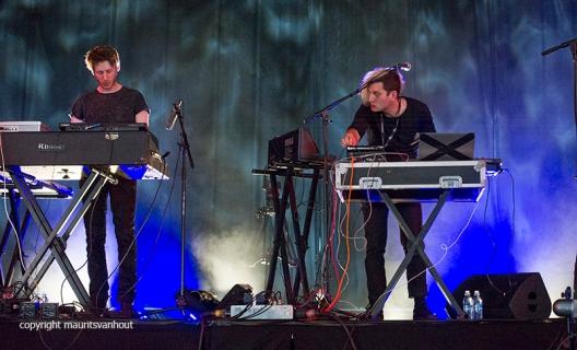 Dave Harrington Group live op Gent Jazz 2016