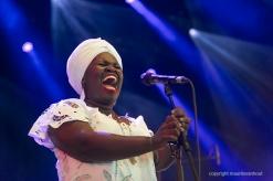 Daymé Arocena live op Gent Jazz 2016