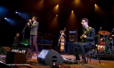 Hugh Coltman live op Gent Jazz 2016