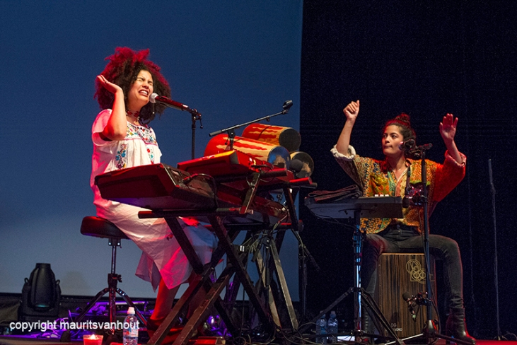 Ibeyi Live at Gent Jazz 2016