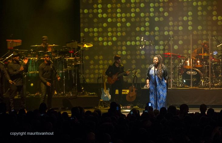 Jill Scott live op Gent Jazz 2016