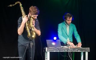 Kneedelus live op Gent Jazz 2016