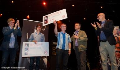 Uitreiking Sabam Awards op Gent Jazz 2016