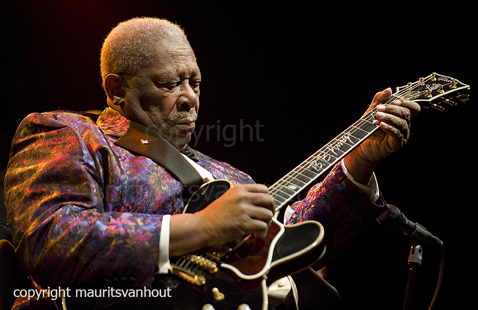 BB King live at gent jazz 2009