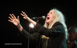 Antwerpen, 13 augustus 2016. Patti Smith treedt op tijdens Jazz Middelheim 2016.
