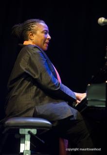 Antwerpen, 15 augustus 2016, Tijdens het jaarlijkse Jazz Middelheim Festival treedt het Powertrio op. Foto: Geri Allen
