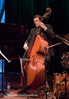 Amsterdam, 25 mei 2017. Trio Vein trad op in het Bimhuis in Amsterdam. Foto: Thomas Lähns