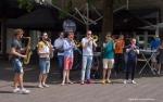 Brassta Vista wist het publiek goed te vermaken in de binnenstad van Breda