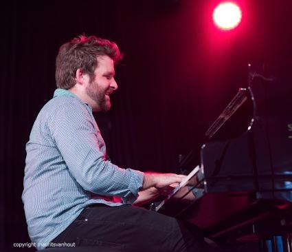 Gent, 7 juli 2017. Tijdens het jaarlijkse Gent Jazz festival treedt Ben Wendel Group op. foto: pianist Taylor Eigsti
