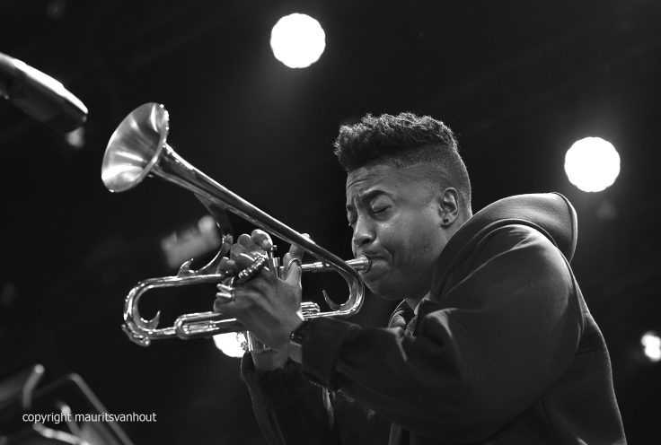 Christian Scott live at Gent Jazz 2017
