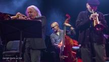 Gent, 8 juli 2017. Tijdens het jaarlijkse Gent Jazz Festival treedt Enrico Rava op