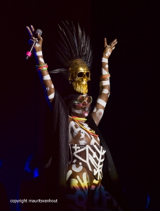 Grace Jones live at Gent Jazz 2017