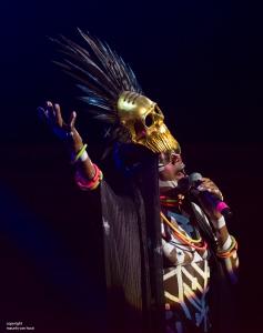 gent, 6 juli 2017. Tijdens het jaarlijkse Gent Jazz festival treedt Grace Jones op