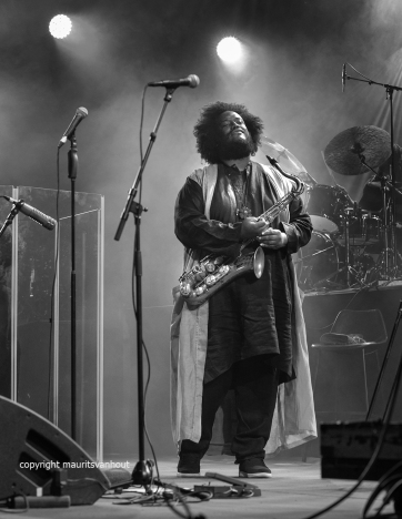 Kamasi Washington live at gent jazz 2017