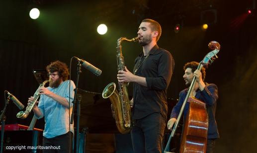 Omer Avital Quintet live at Gent Jazz 2017