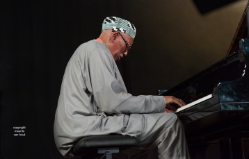 Randy Weston performing at Jazz Middelheim