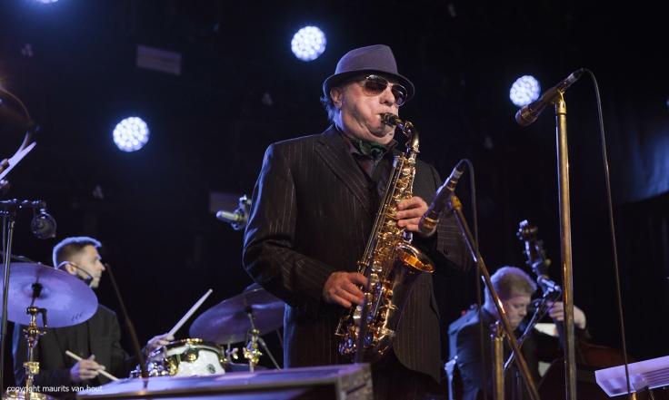 Van Morrison treedt op tijdens Jazz Middelheim 2017