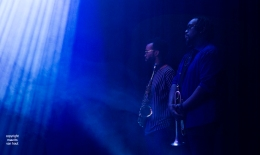 Marquis Hill Blacktet, live op Jazz International 2017 Rotterdam
