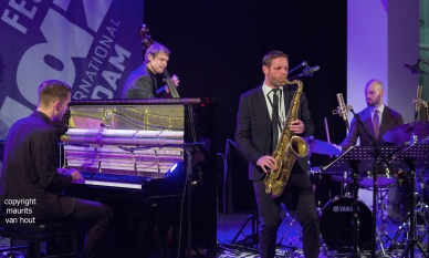 snorre kirk quintet tijdens jazz international rotterdam 2017