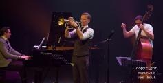 Teus Nobel Kwartet met Alexander van Popta, Jeroen Vierdag, Tuur Moens. foto Van Popta, Nobel en Vierdag.