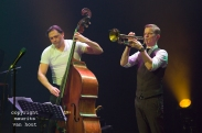 Teus Nobel Kwartet met Alexander van Popta, Jeroen Vierdag, Tuur Moens. foto: Jeroen Vierdag en Teus Nobel