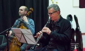 Thomas van Geelen en muzikanten tijdens Sound of Europe festival in Breda. foto: Ab Baars