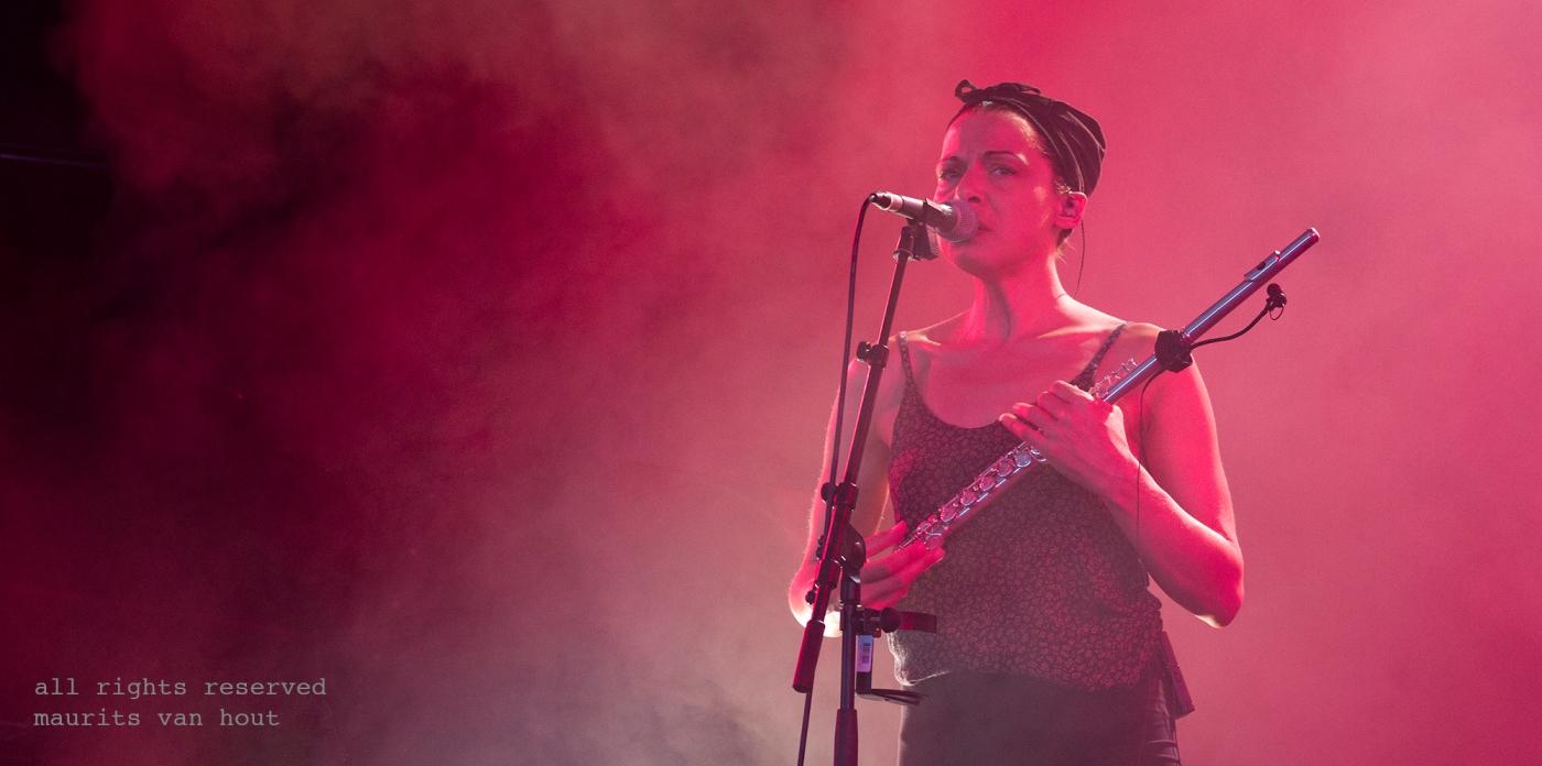 Melanie de Biasio by Dutch jazzphotographer Maurits van Hout
