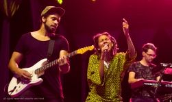 Nneka live at gent jazz by Dutch jazzphotographer Maurits van Hout