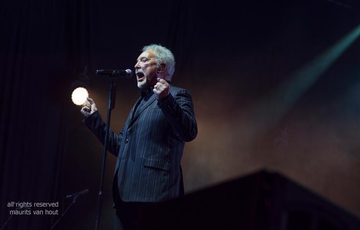 Tom Jones by Jazzphotographer Maurits van Hout