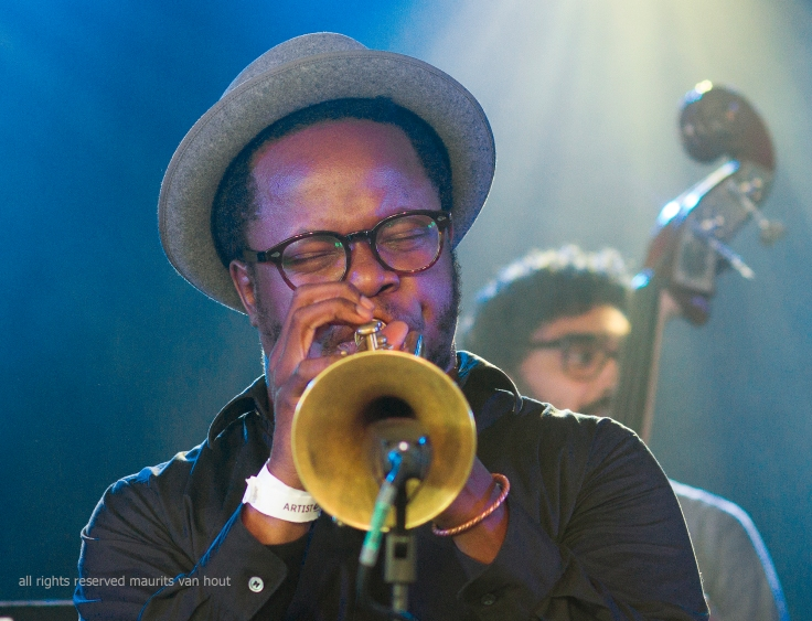 Ambrose Akinmusire by Jazzphotographer Maurits van Hout