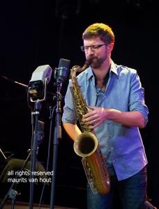 Robin Verheyen by dutch jazzphotographer maurits van hout