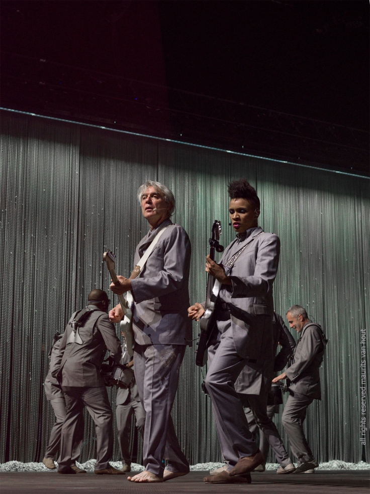 David Byrne by jazzphotographer maurits van hout