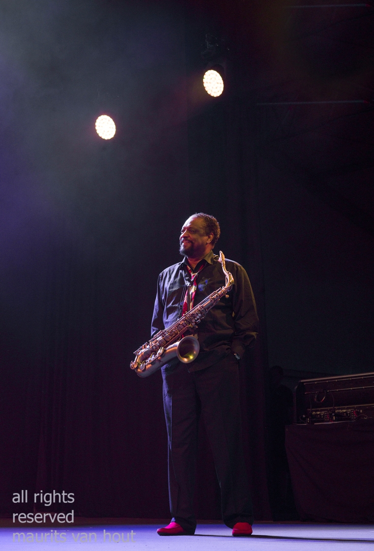 Chico Freeman by jazzphotographer maurits van hout