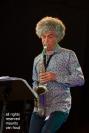 Antwerpen, 12 augustus 2018. Tijdens het jaarlijkse jazz middelheim treedt AKA Moon op.