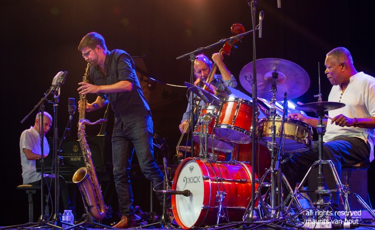 Robin Verheyen Quartet by Dutch Jazzphotographer Maurits van Hout
