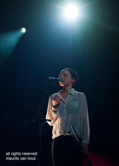 Melanie de Biasio by jazzphotographer maurits van hout