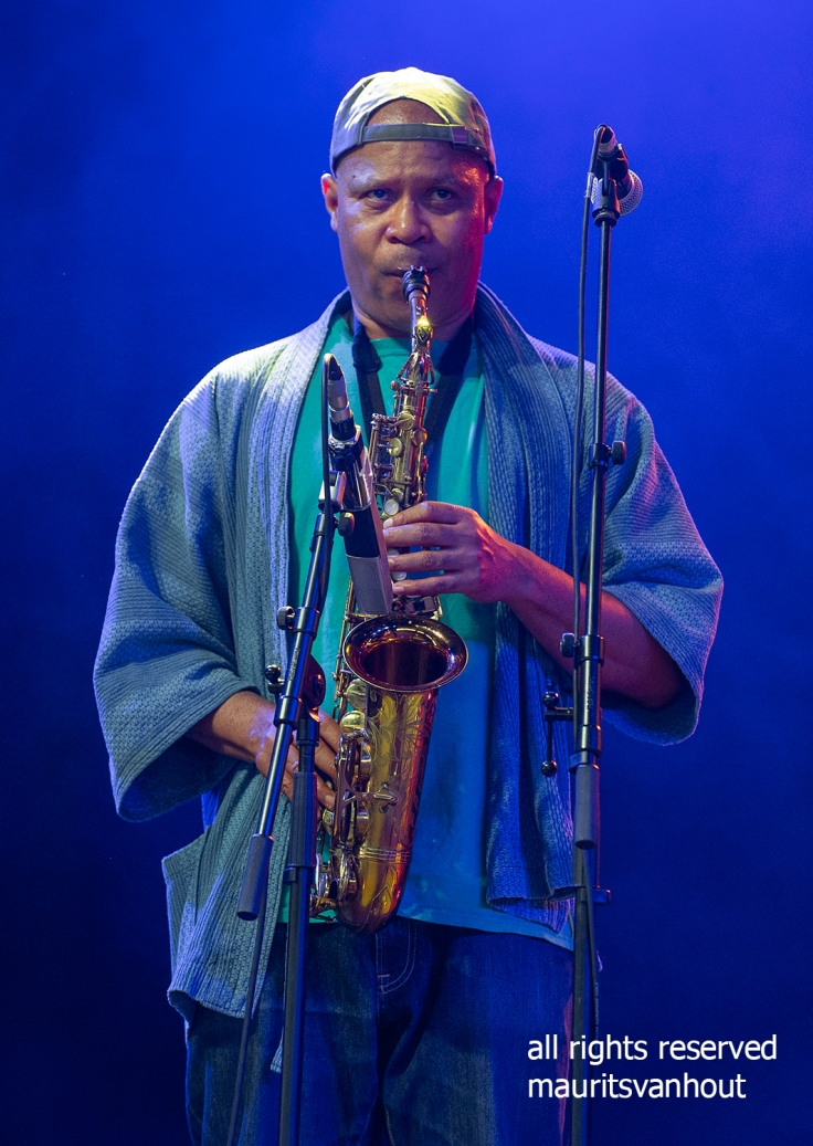 Steve Coleman by Dutch Jazzphotographer Maurits van Hout