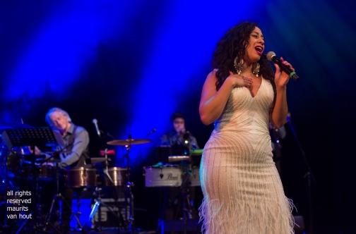 Den Haag, 24 november 2018. In de Nieuwe Regentes is de show The Soul of Spanish Harlem te zien met oa zangeressen Lilian Vieira, Shirma Rouse en Gianna Tam. foto: gianna tam