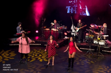 Den Haag, 24 november 2018. In de Nieuwe Regentes is de show The Soul of Spanish Harlem te zien met oa zangeressen Lilian Vieira, Shirma Rouse en Gianna Tam