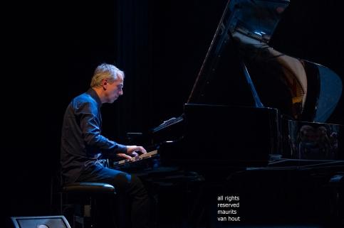 Den Haag, 8 maart 2019. Estafest speelt in het Koorenhuis. foto: pianist Jeroen van Vliet