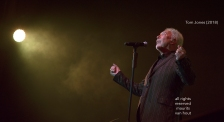 Tom Jones live at gent jazz festival